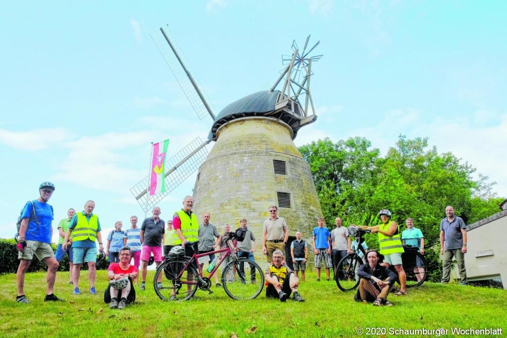 Fahrradtour Teilnehmer